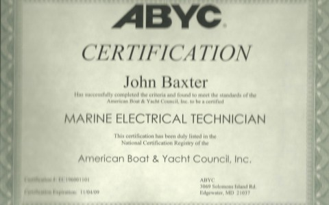 ABYC Electrical